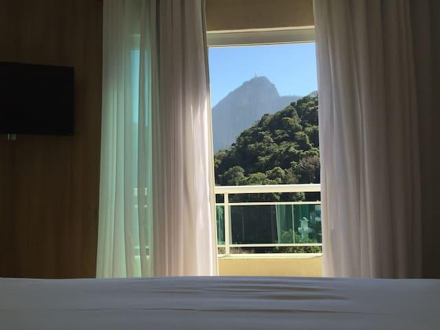 Breathtaking suite by Lagoa. - Rio - Huis