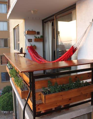 Departamento de Lujo con Terraza-Bar Vista al Mar.
