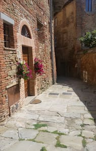 "Country flat ""Il Nido"" in pieno centro storico - Panicale - Appartement"