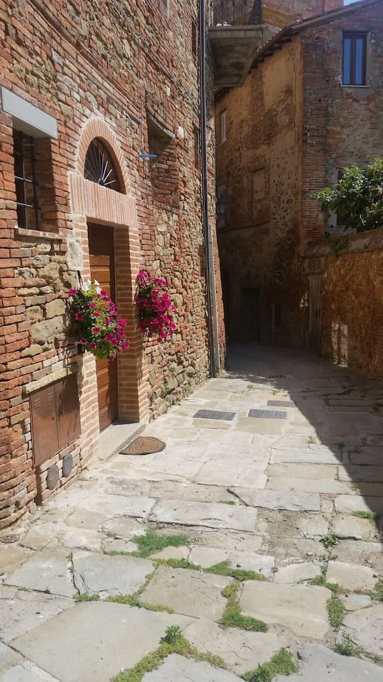 Appartamento in pieno centro storico a Panicale - Apartment in one of the more central street of Panicale.