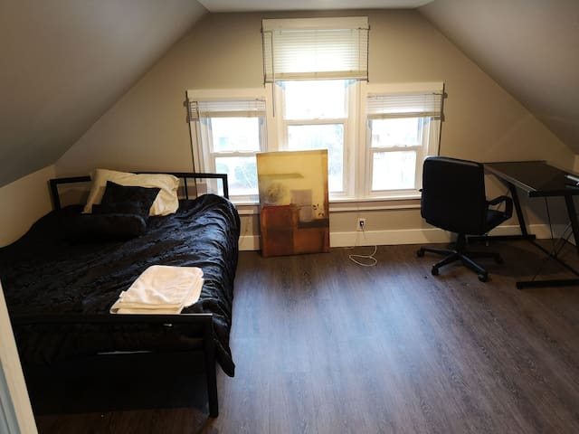 Newly renovated house - penthouse room
