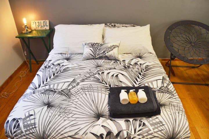 Quiet & Fancy space in trendy Roma Norte - Ciudad de México - Apartament