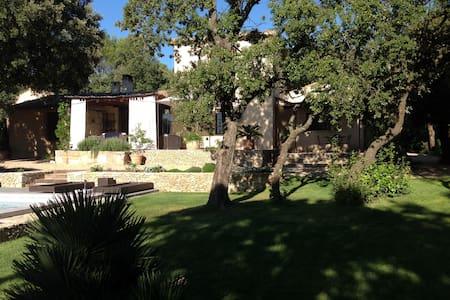 Maison de charme proche d'Uzes - Saint-Victor-des-Oules - Hus