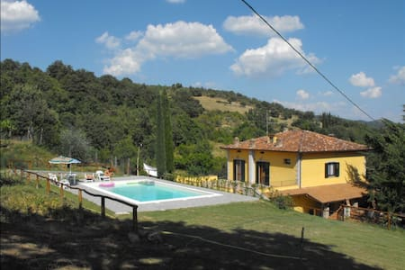 Casa Caldesi, sleeps 6 guests in Arezzo - Arezzo