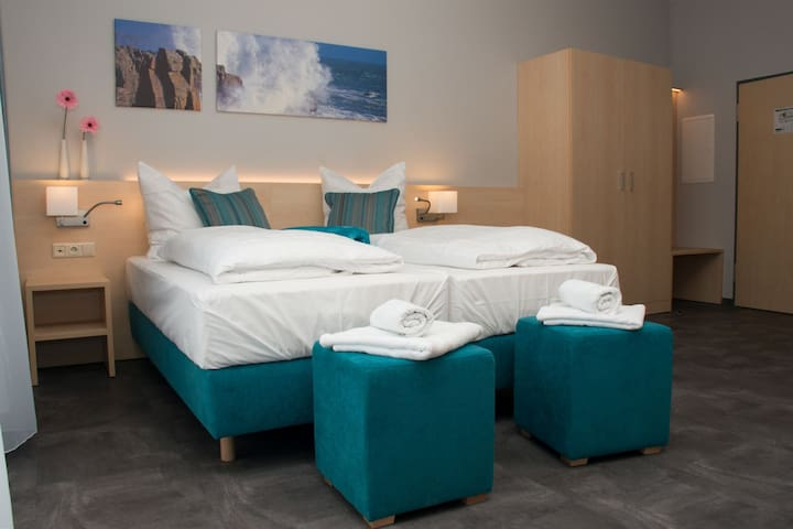 Riff Resort, (Bad Lausick), Doppelzimmer 26qm