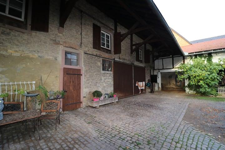 Fremdenzimmer in Hofreite von 1846