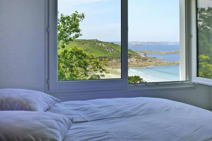 Chambre 1 avec vue sur mer