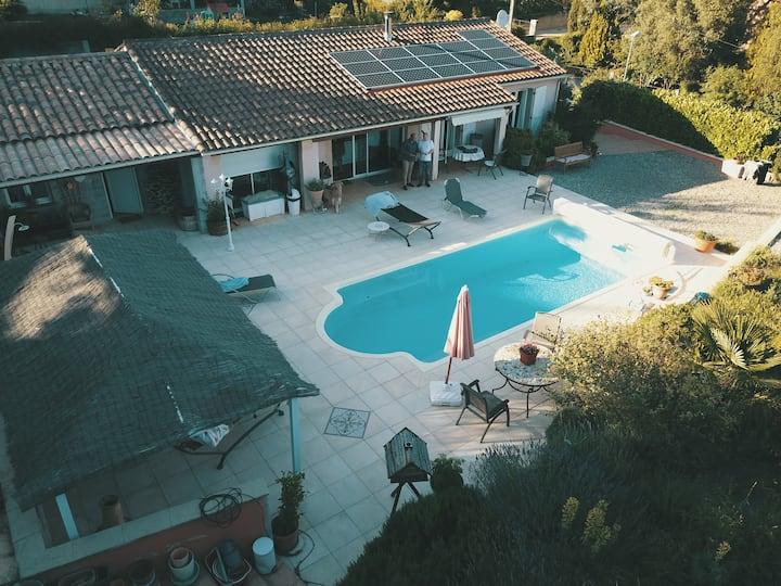Villa très agréable, un vrai havre de paix.
