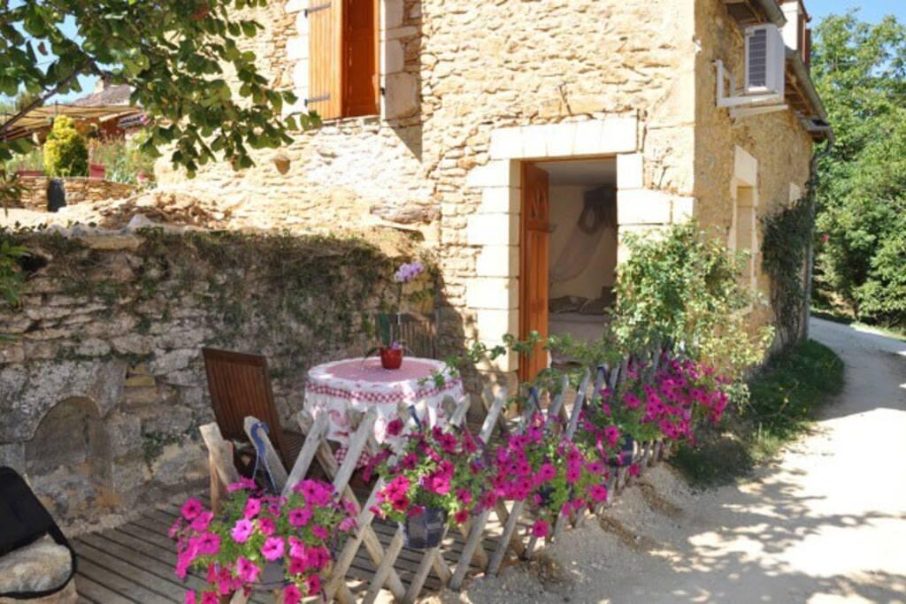 Petite terrasse privative