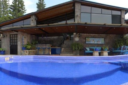 Beautiful Casa Monarca at Lake Atitlan