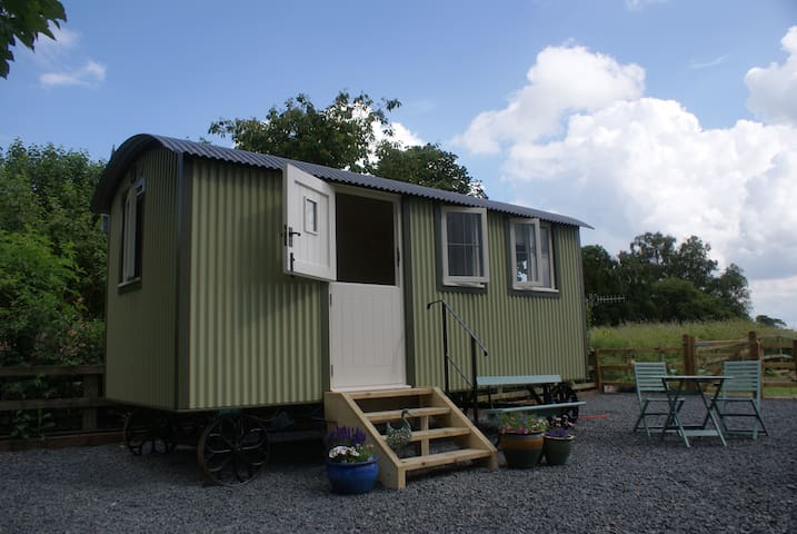 Shepherds Hut in Riverside Meadow - Kempsey - Hut