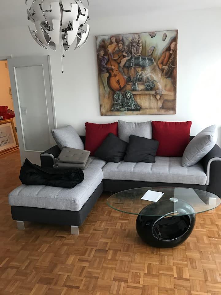 Appartement T3 75 m2 belles prestations meublé