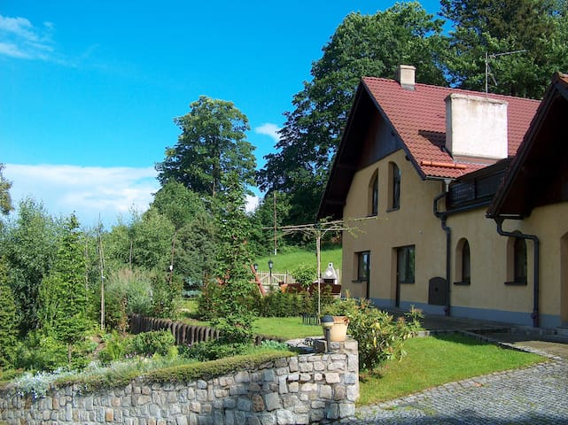 Spacious villa in Giant Mountains - Przesieka