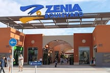 Zenia Boulevard is 10 minutes by car