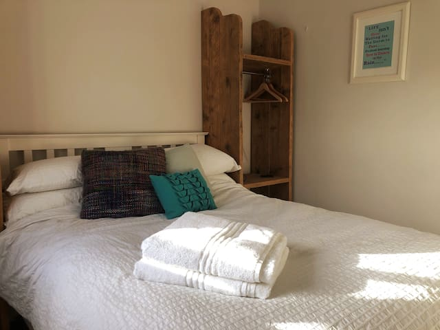 Double Bedroom with hanging space.