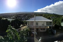 Vue panoramique coté rue