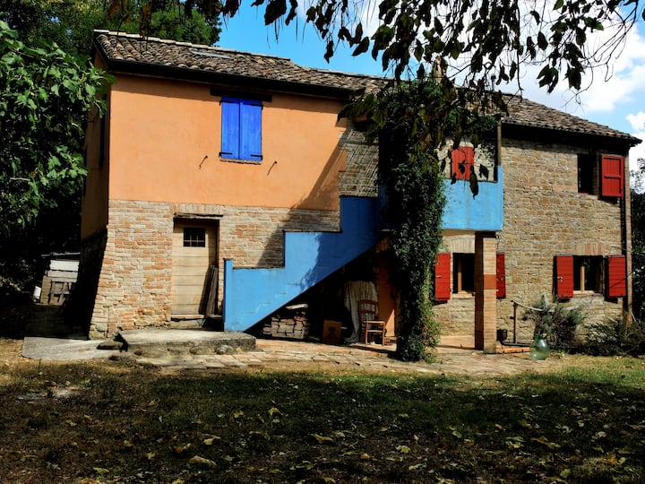 A beautiful countryhouse in Marche