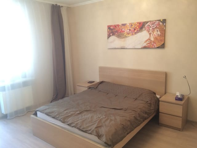 Modern apt 7 min away from Nevsky pr. - Sankt-Peterburg
