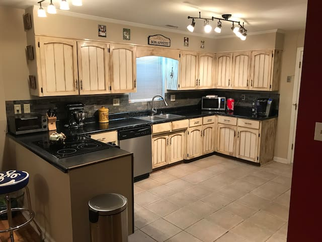 Kitchen is available to use. There is also space for you in the refrigerator.