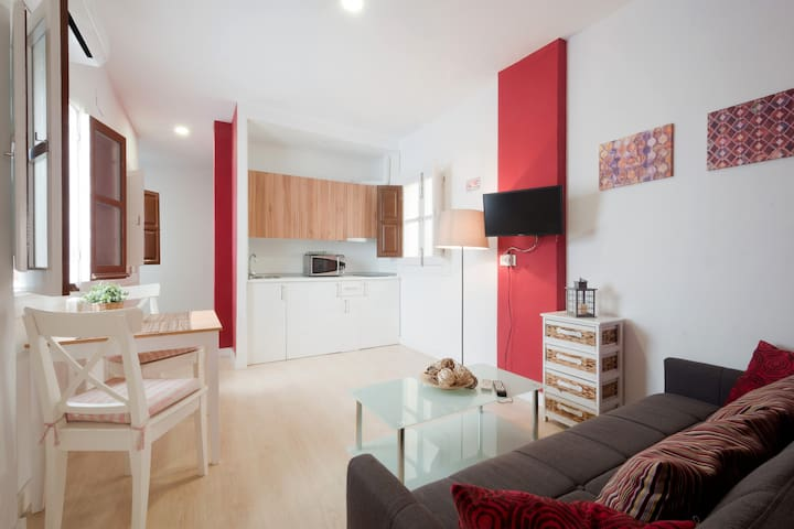 Homey reformed apartment  in the Alhambra area - Granada - Wohnung
