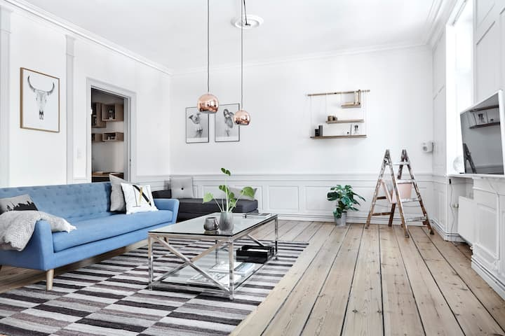 A 155m2 charming gem - downtown CPH