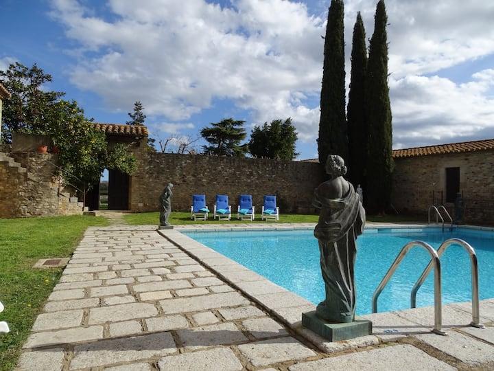 Masia aislada con piscina Costa Brava Baix Empordà