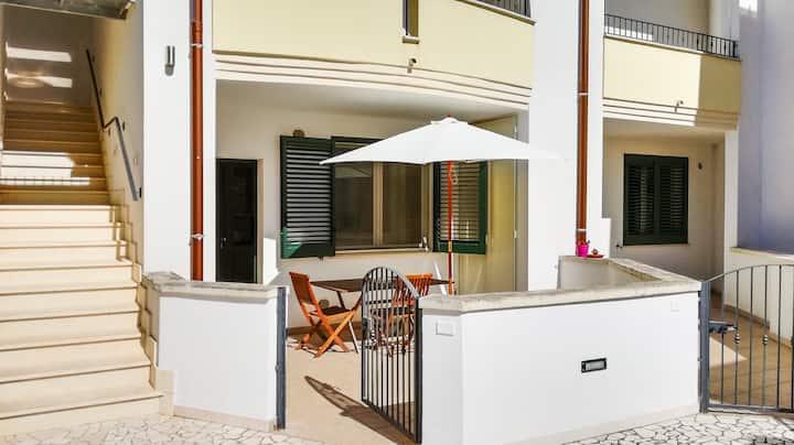 Comodo appartamento per vacanze nel Salento.