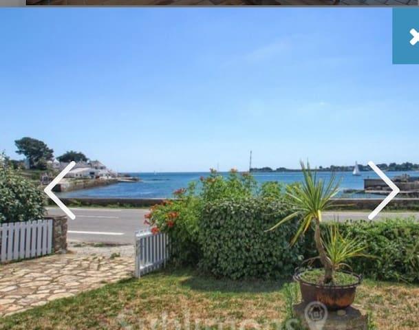 Maison vue mer imprenable à Saint Philibert