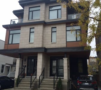 New contemporary home features an upscale 830 sq ft bright, spacious basement apt minutes from the Byward Market, Rideau Canal, National Gallery, Parliament, Rideau Center, parks, shops and restaurants. Quiet, convenient downtown living at its best!