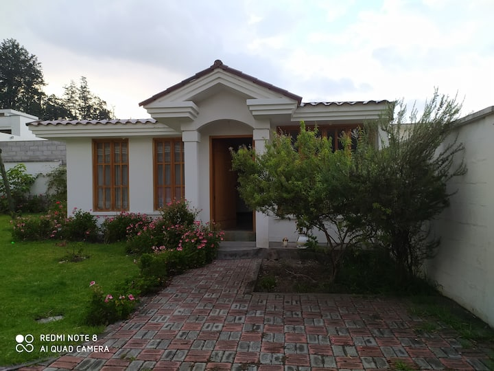 Acogedora suite en Hacienda Capelo, los Chillos