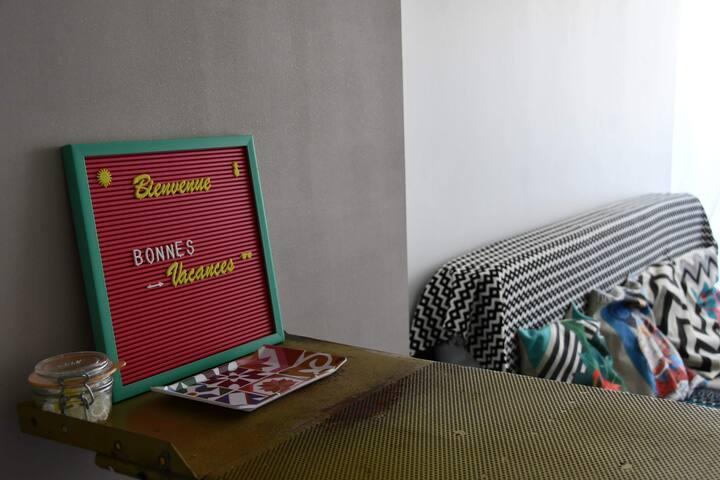 Chez Bad Georgette, chambre d'hôte agathoise