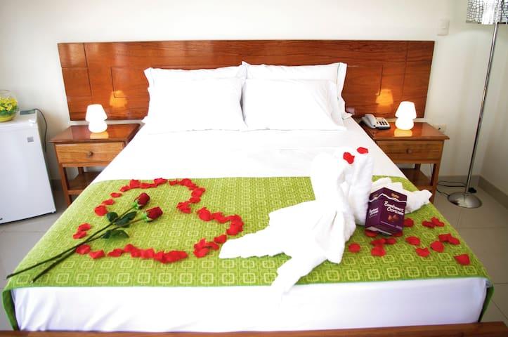 Habitación Matrimonial en DEL CASTILLO PLAZA HOTEL