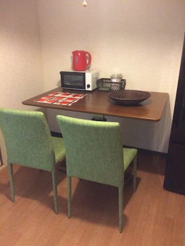 From Kujo station soon! Cheap and comfortable inn - 大阪市西区 - Apartament