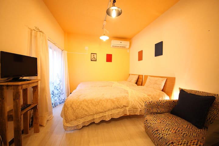 Private!1st Floor.In front of Doshisya Univ. Wifi.