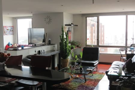 Exelent sunset view and location. Downtown Apto - Bogotá - Appartement