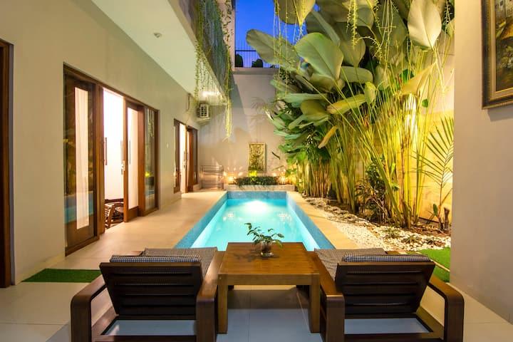 Pandhega 2 House 3BR w/Pool in Borobudur