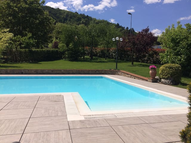Villa Poesia with garden and pool