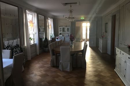 A room in a beautiful Mansion close to Norrköping - Norrköping