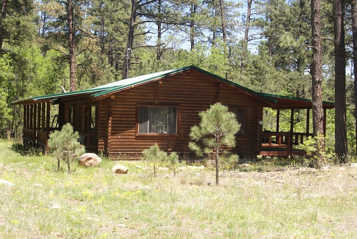 The Bauer Cabin at Ojos Verdes in El Porvenir, NM