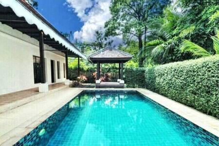 [SG22]  Phuket 2BR RARE & HUGE Pool Villa - Tambon Choeng Thale - Villa