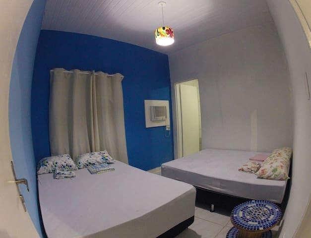 Espaço Revive Hostel e Camping 3° ( Quadruplo)