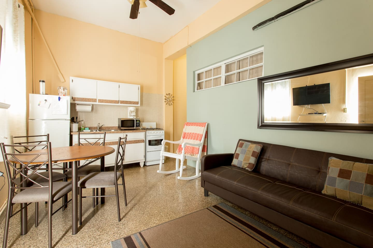 Enjoy the warmth of Puerto Rico in your own comfy one bedroom apt.