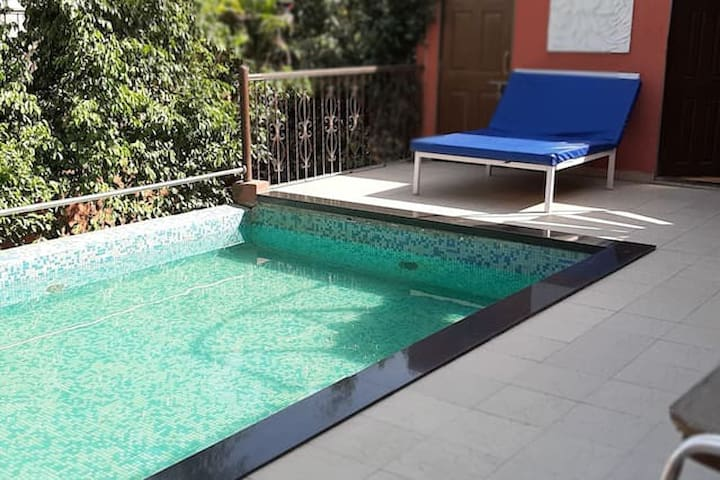 1 BHK VILLA WITH SWIMMING POOL