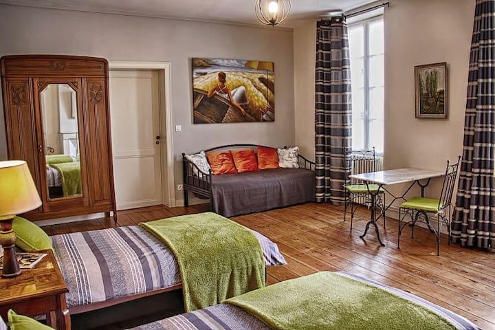 Spacious suite in bnb near Bordeaux and beyond - La Réole - ที่พักพร้อมอาหารเช้า