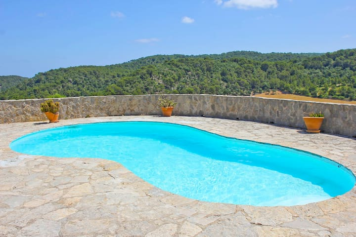 Amazing country house in El Toro with pool