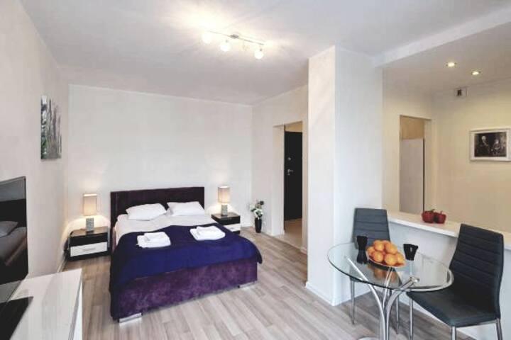 Apartament dla 2 osób, Warsaw Inside