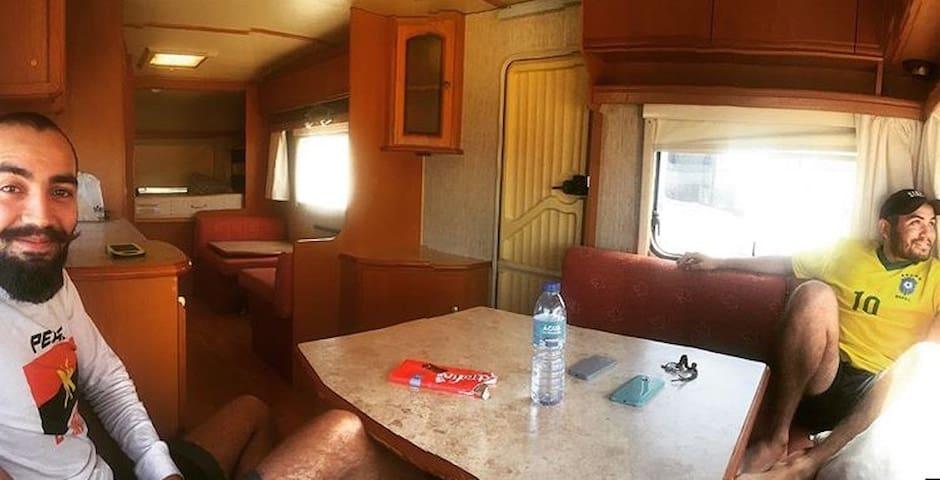 Caravana no Algarve
