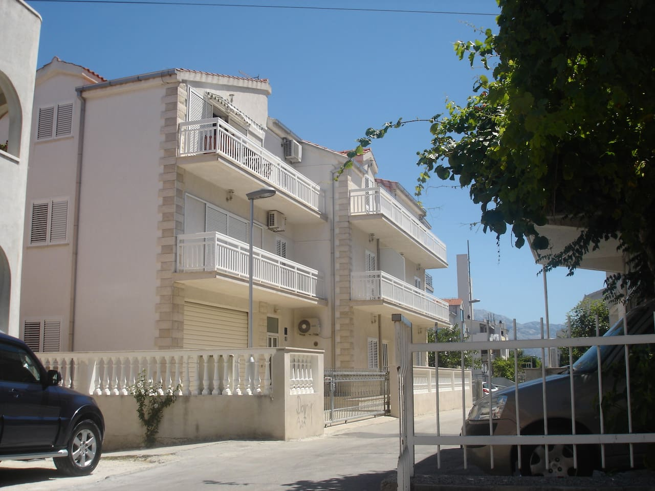 This is stone house with 5, large and beautiful, paradise apartments. Welcome to our little corner of beautiful paradise apartments and discover the beauty of Split.