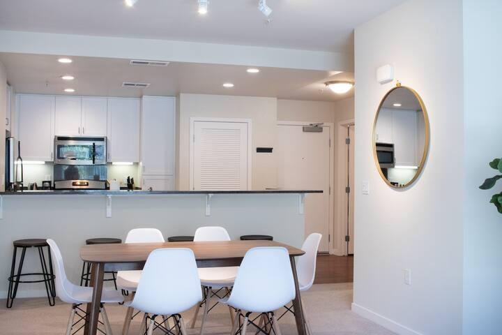 Kasa | Santa Clara | Urban Modern 2BD/2BA Apartment