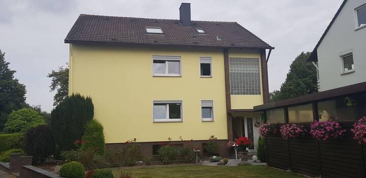 Schöne grosse gepflegte Wohnung in Rodenberg
